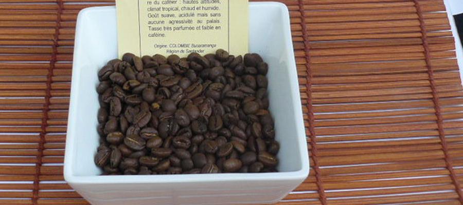 café arabica de Colombie